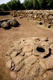 Ruina Cerdeña Foto de archivo