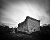 Ruina Craignethan kasztel tęsk ujawnienie Lesmahagow Szkocja, Maj - 11th, 2018 - Fotografia Stock