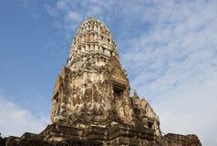 Ruina de Ayutthaya Fotografía de archivo