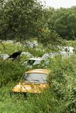 Ruina de coches viejos Fotografía de archivo