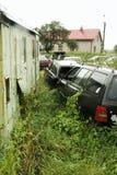 Ruina de coches viejos Fotos de archivo