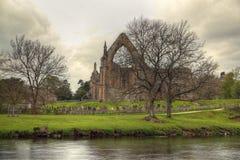 Ruina de la abadía de Bolton. Fotografía de archivo libre de regalías