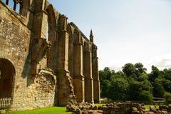 Ruina de la abadía de Bolton en Yorkshire, Reino Unido. Fotografía de archivo libre de regalías