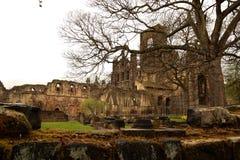 Ruina de la abadía de Kirkstall Imagen de archivo libre de regalías