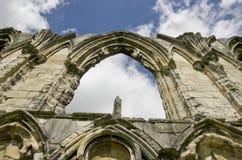 Ruina de la abadía de St Mary, Fotos de archivo libres de regalías