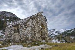 Ruina de la cabaña Foto de archivo libre de regalías
