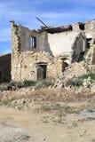 Ruina de la casa Imagen de archivo libre de regalías
