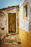 Ruina de la casa Fotografía de archivo