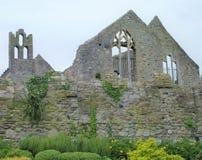 Ruina de la casa vieja en Howth Fotografía de archivo