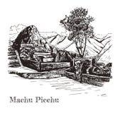 Ruina de la civilización antigua Machu Picchu libre illustration