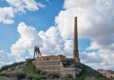 Ruina de la fábrica Fotografía de archivo
