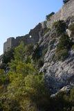 Ruina de la fortaleza Foto de archivo libre de regalías