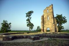 Ruina de la iglesia Imágenes de archivo libres de regalías