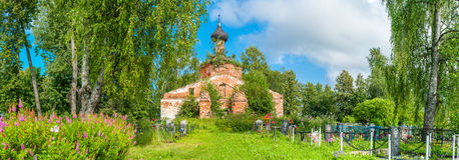 Ruina de la iglesia imagen de archivo