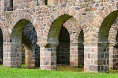 Ruina de la iglesia de Loburg Fotografía de archivo libre de regalías