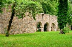 Ruina de la iglesia de Loburg Fotos de archivo libres de regalías