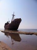 Ruina de la nave Imagenes de archivo