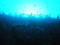 Ruina de la nave foto de archivo