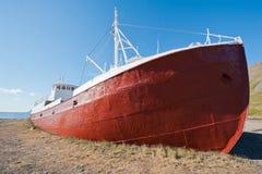 Ruina de la nave Foto de archivo libre de regalías