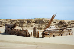 Ruina de la nave Imágenes de archivo libres de regalías