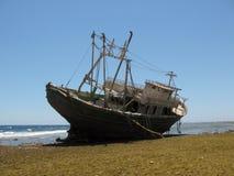 Ruina de la nave en el Mar Rojo Fotografía de archivo libre de regalías