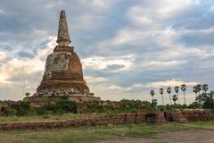 Ruina de la pagoda Foto de archivo