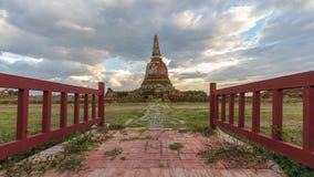 Ruina de la pagoda Imagen de archivo libre de regalías