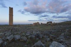 Ruina de la primera universidad en Turquía Fotografía de archivo