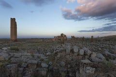 Ruina de la primera universidad en Turquía Fotos de archivo