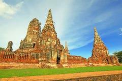 Ruina de la Tailandia vieja (Tailandia) foto de archivo