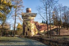 Ruina de la torre fotografía de archivo