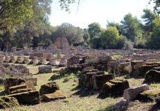 Ruina de Leonideum Imágenes de archivo libres de regalías