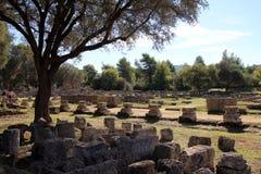 Ruina de Leonideum Imagen de archivo libre de regalías