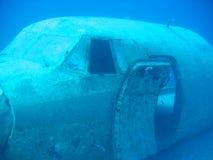 Ruina de los aviones Imagen de archivo