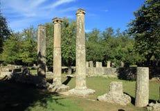 Ruina de Olympia Foto de archivo