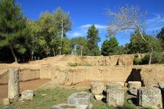 Ruina de Olympia Imagen de archivo libre de regalías