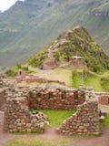 Ruina de Pisac Fotos de archivo libres de regalías