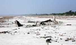 Ruina de un barco Fotos de archivo libres de regalías