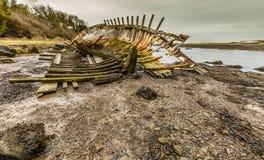Ruina del barco de Dulas fotografía de archivo