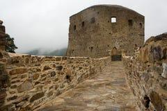 Ruina del castillo Imagenes de archivo
