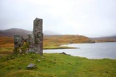 Ruina del castillo Foto de archivo