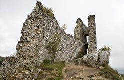 Ruina del castillo gótico Fotografía de archivo libre de regalías