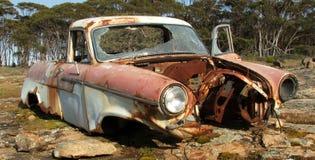 Ruina del coche foto de archivo libre de regalías