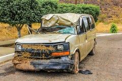 Ruina del coche Fotos de archivo libres de regalías