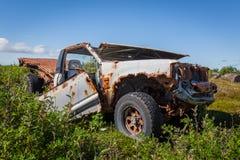 Ruina del coche Imagen de archivo