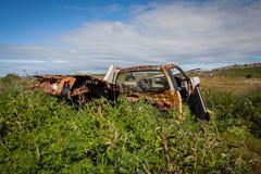 Ruina del coche Imágenes de archivo libres de regalías