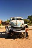 Ruina del coche del desierto Fotos de archivo