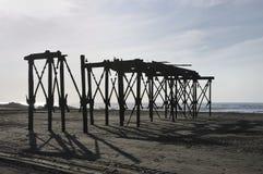 Ruina del embarcadero Fotografía de archivo libre de regalías
