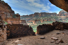 Ruina del nativo americano de Sedona Foto de archivo libre de regalías