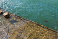 Ruina del Pearl Harbor Foto de archivo libre de regalías